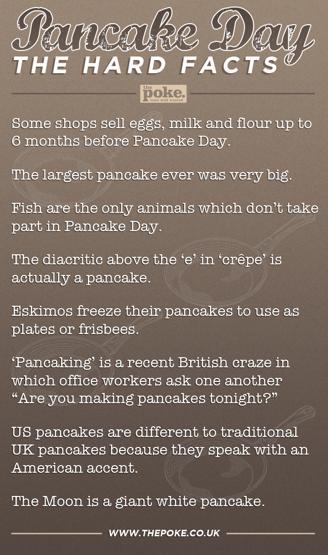 Pancake Day The Hard Facts The Poke