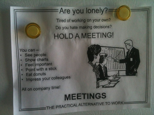 How To Survive Office Meetings The Poke