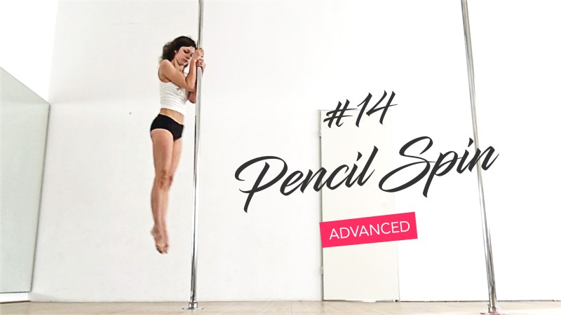This pole dance spin always wins audience applause (Pencil ...