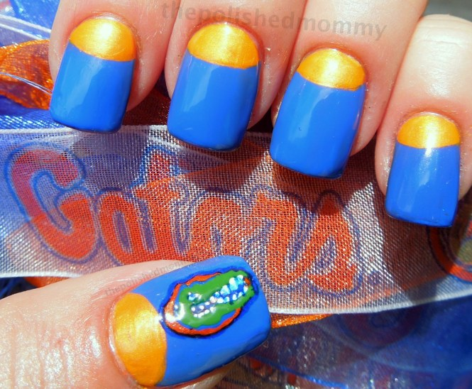 Cute Taco Nail Design Takes Tuesday To A Whole New Level Navy And