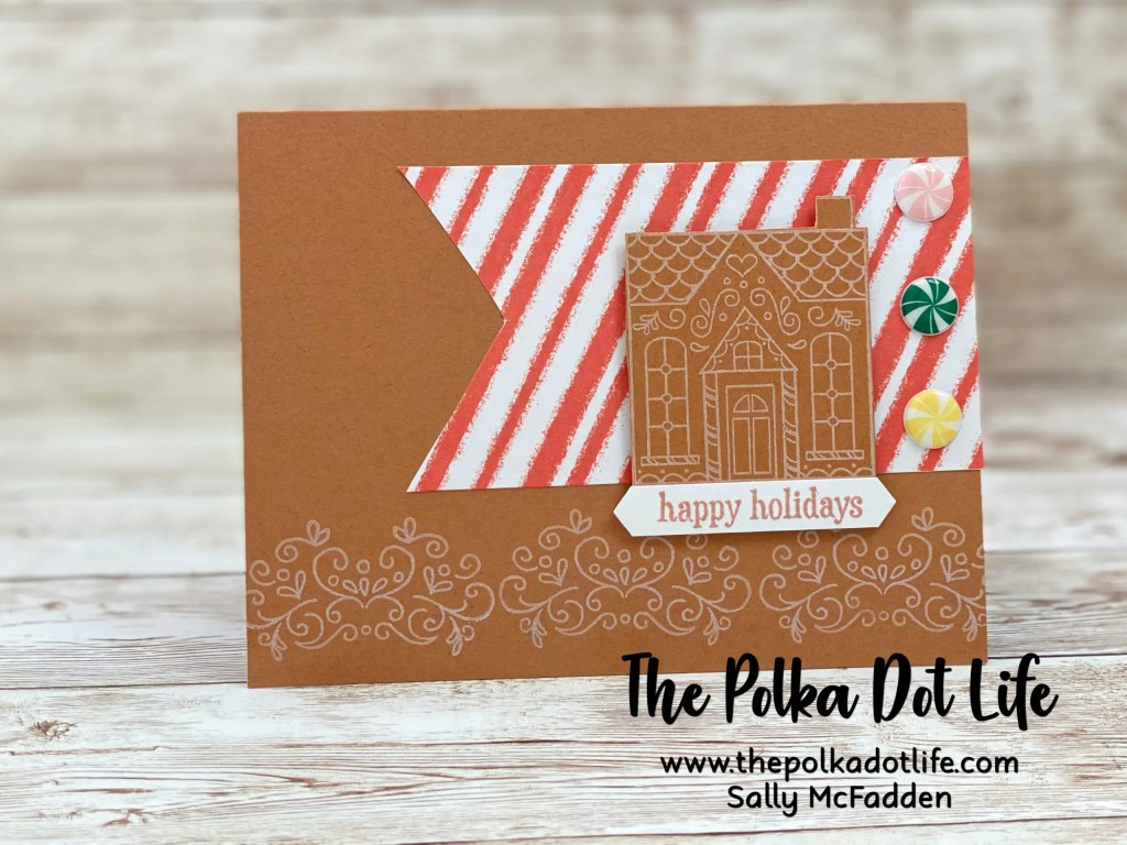 An alternative greeting card made with the Paper Pumpkin November 2020 kit.