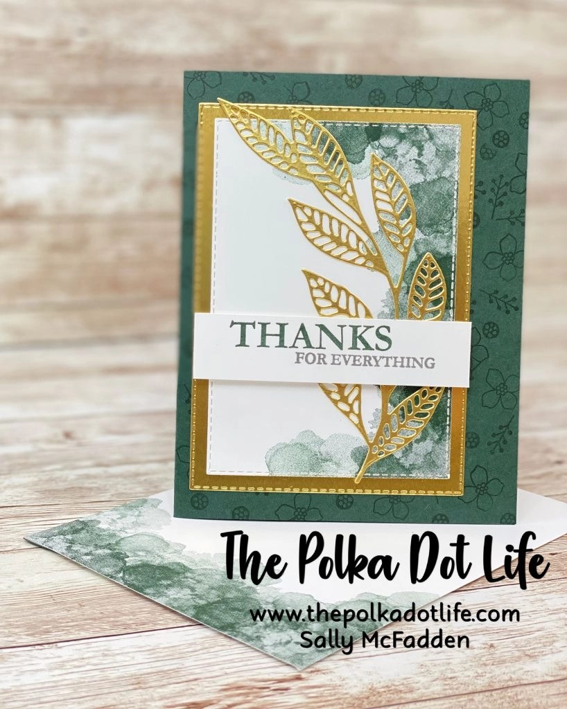 This greeting card was made using supplies from the Paper Pumpkin Expressions In Color kit.  Other supplies from Stampin' Up were also used.