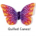 Polymer Clay Workshops Aug 2015 Quilled Cane Butterfly 150x150 - Expanding on the New Fall Issue