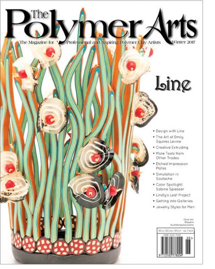 17P4 Winter Line Lg border 430x537 - The Winter Cover, 1/2 off Polymer Journeys SALE, & other news