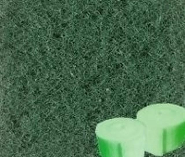Green Filter Material Bulk  Wide Dense