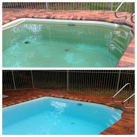 Rust Stains In Swimming Pools