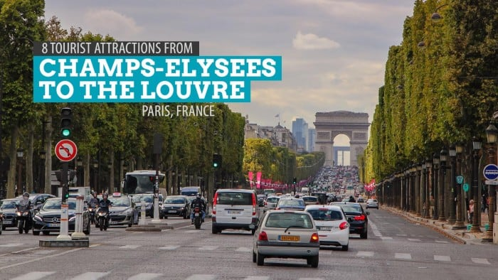 8 Tourist Attractions from Champs-Élysées to The Louvre: A Paris Walking Tour