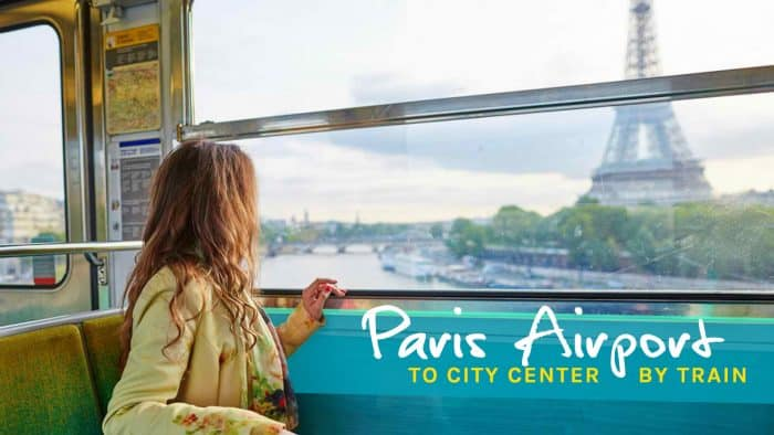 How to Get to Paris City Center from Charles de Gualle Airport by Train