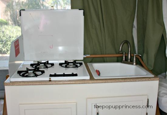 easy pop up camper tile backsplash