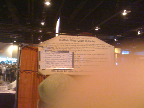 Dogfish Head Booth