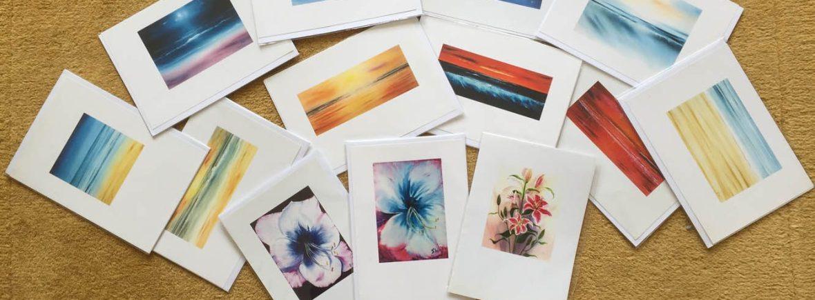 cornish seascape greeting cards
