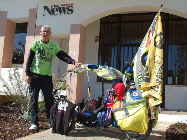 Briton embarks on World Environment Tour to promote conservation