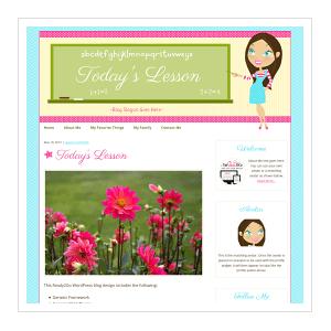 Todays Lesson Ready2Go WordPress Blog