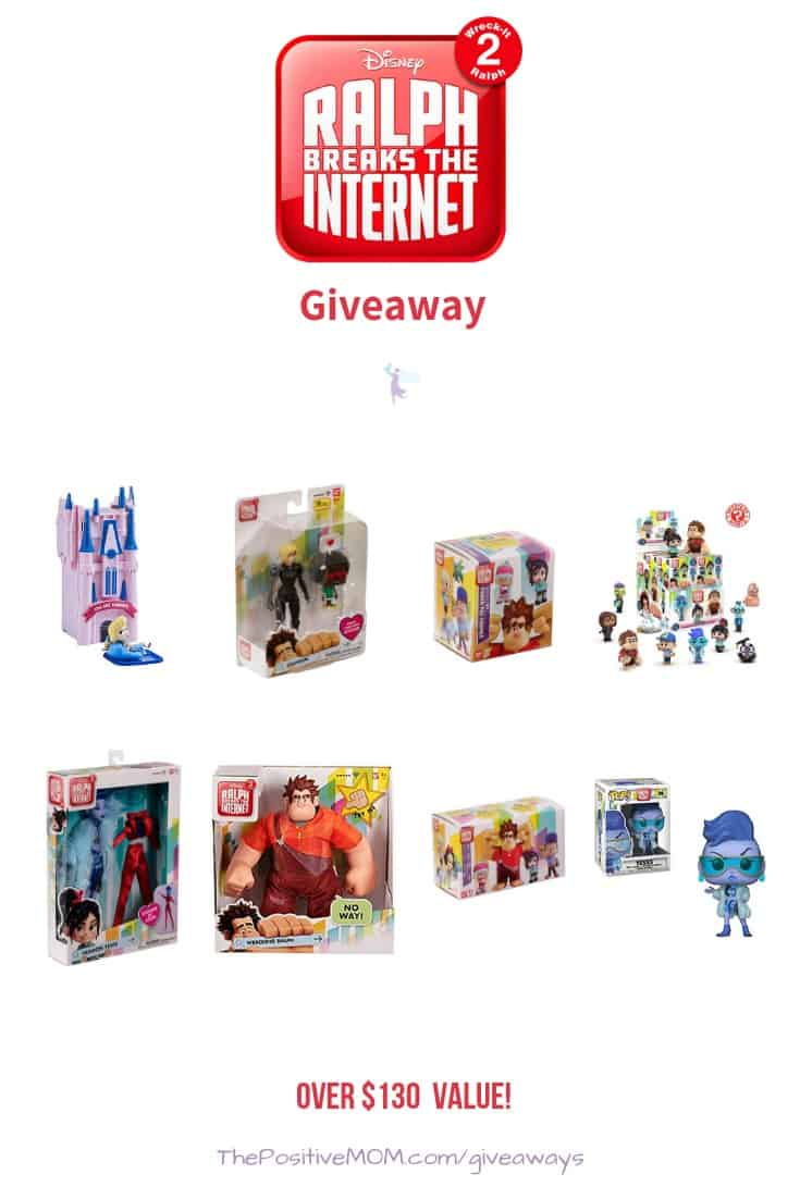 Ralph Breaks the Internet Product Giveaway