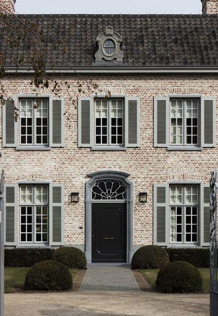 Beuatiful-Brock-and-Gray-via-Bloglovin Driveway Poorly Design House on modern driveway gate design, kitchen design, home entrance design,