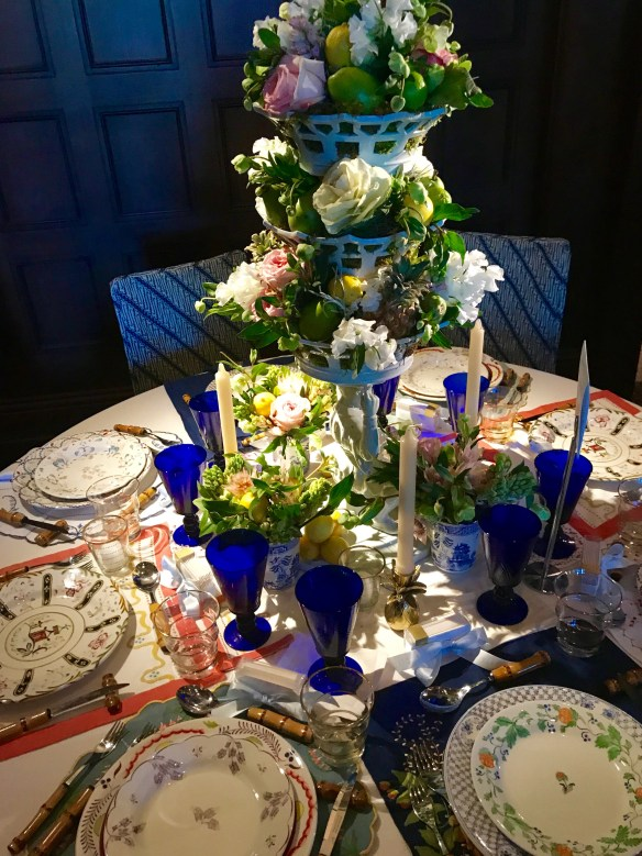 KKG Tablescapes 2017 photo by the potted boxwood 10