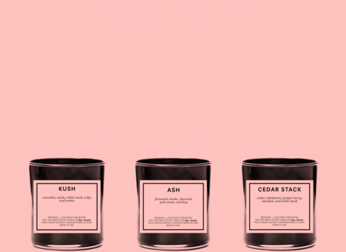 Boy smell Candles