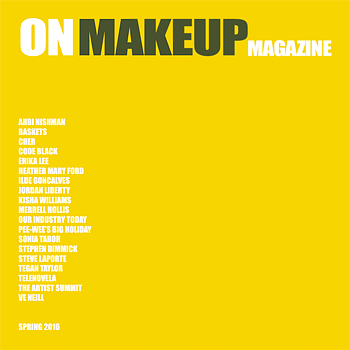 On Makeup Magazine Spring 2016 Cover