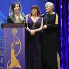 Make-Up Artists: Eryn Krueger Mekash, Zoe Hay, Heather Plott - Winners for Television Mini Series or Movie Made for Television: BEST PERIOD / CHARACTER MAKE-UP The People v. O.J. Simpson: American Crime Story