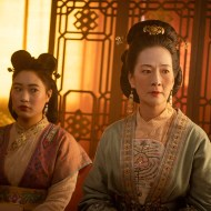 Xana Tang as Xiu and Rosalind Chao as Li in Disney's MULAN. Photo credit: Jasin Boland. © 2020 Disney Enterprises, Inc. All Rights Reserved.