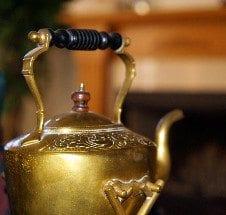 Brassteapot