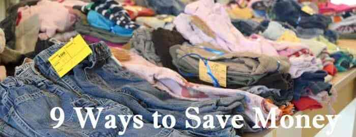 9 Ways to Save Money on Kids Clothes