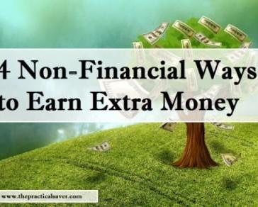4 Non-Financial Ways to Earn Extra Money