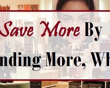 Save More by Spending More, What?