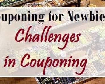 couponing for beginners challenges in couponing