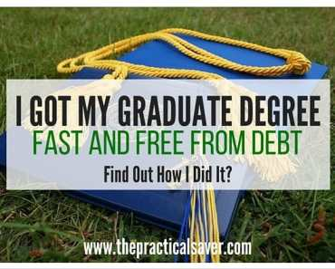 Get Graduate Degree Fast and Free From Debt