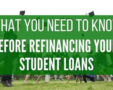 Is Refinancing Student Loans a Good Idea?