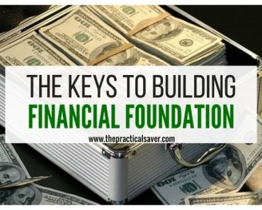The Keys for Building a Financial Foundation