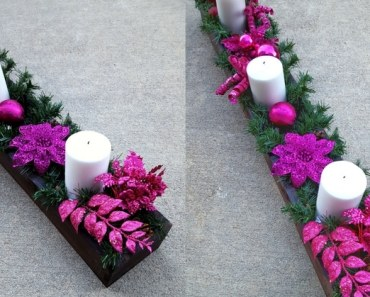 Frugal Project: Easy DIY Centerpiece Box