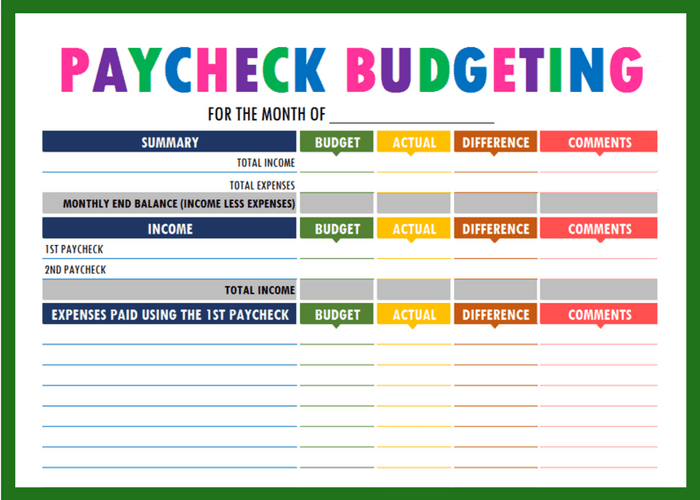 image about Income Tracker Printable referred to as Properly-recognised Revenue Tracker Printable #SN73