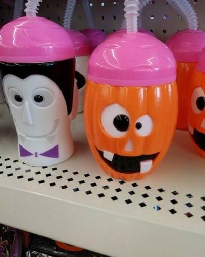 Halloween drinking cup