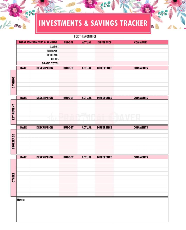 Budget Binder Printables 1