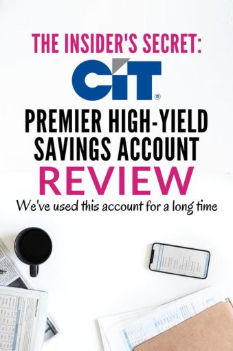 Having a high-interest bearing savings account means you are can save extra money and make extra mone without doing a whole lot. That's what we experience with CIT Bank. We've used it for a very long time and have never left. Click here to find out the insider's view of CIT Bank and see if this online savings account can help you. #savemoney #makeextramoney #thepracticalsaver