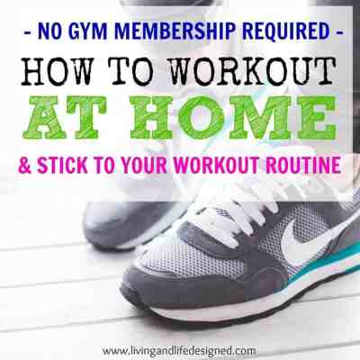 Why Working Out at Home Might Be For You and How to Set up a Workout Space + Routine for Success