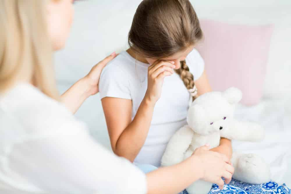 Watch for Body Language that Indicates a Child is Upset or Uncomfortable By a Situation