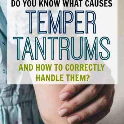 Understanding Why Temper Tantrums Happen & How to Handle Them