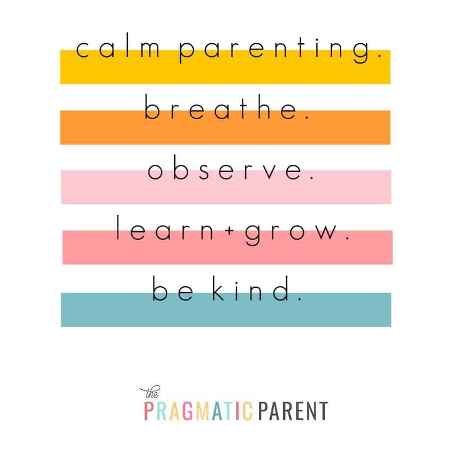 Calm Parenting Learn To Stop Yelling Course Info