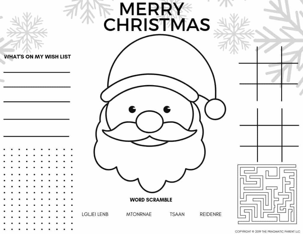 2020 - Cute Printable Christmas Coloring Pages & Christmas ... | free printable christmas coloring pages