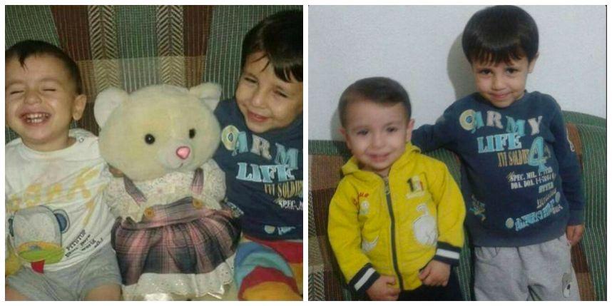 Aylan, 3 ans et son frère Ghalib, 5 ans !