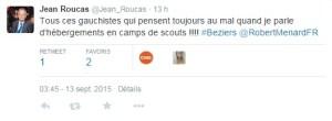 """""""Jean Roucas"""" et les camps de scouts"""