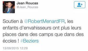 """""""Jean Roucas"""" soutien Robert Ménard"""