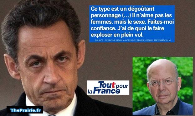 Sarkozy et DSK selon Patrick Buisson - ThePrairie.fr !