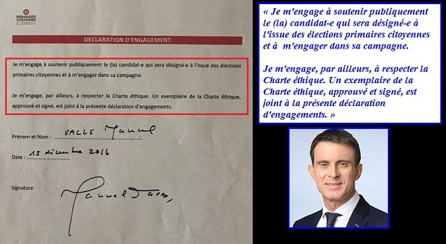 Valls, engagement avant la primaire - ThePrairie.fr !