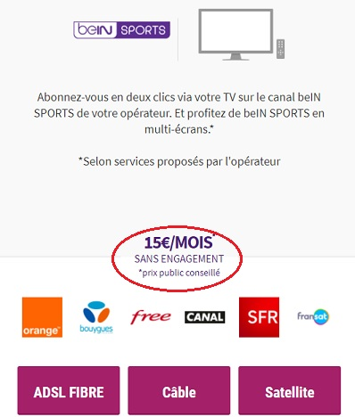 BeIn Sans engagement - ThePrairie.fr !