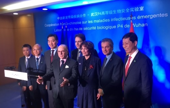 Cazeneuve, Touraine et Lévy à Wuhan