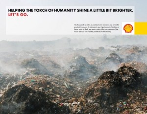 Fake Shell corporate ad